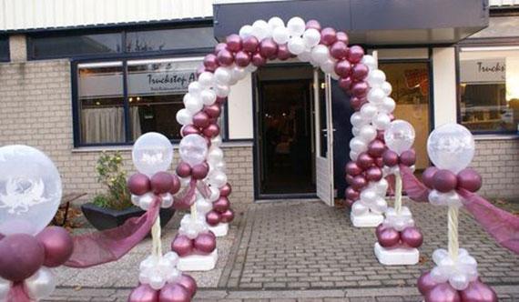 decoración para bodas con globos | decoracionparabodas