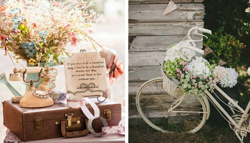 decoración para bodas vintage | decoracionparabodas
